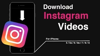 Video How to Download Instagram Videos on iPhone 5s/6/6s/7/8/X download MP3, 3GP, MP4, WEBM, AVI, FLV Juli 2018