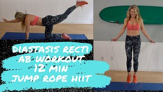 Crunchless Abs Diastasis Recti Safe HIIT Workout