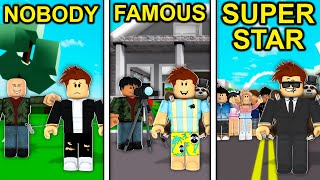 NOBODY to FAMOUS to SUPERSTAR in Roblox Brookhaven..