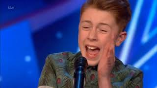 AMAZING 12 year old KERR JAMES ★ BRITAINS GOT TALENT 2019★ Auditions Week 2