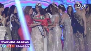 شاهد.. لحظة تتويج نادين أسامة ملكة جمال مصر 2016