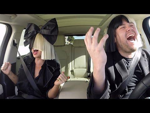 Sia SLAYS Carpool Karaoke With James Corden