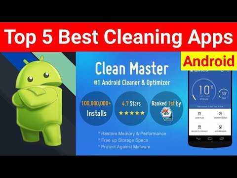 Top 5 Best Cleaning Apps For Android