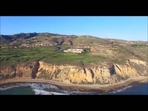 Aerial-TRUMP NATIONAL GOLF CLUB-Rancho Palos Verdes,CA. 4K UHD DJI P3P