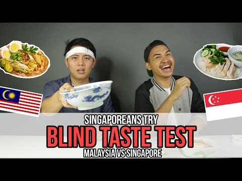 Singaporeans Try: Singapore Vs Malaysia Food Blind Taste Test (feat. The Ming Thing) | EP 32