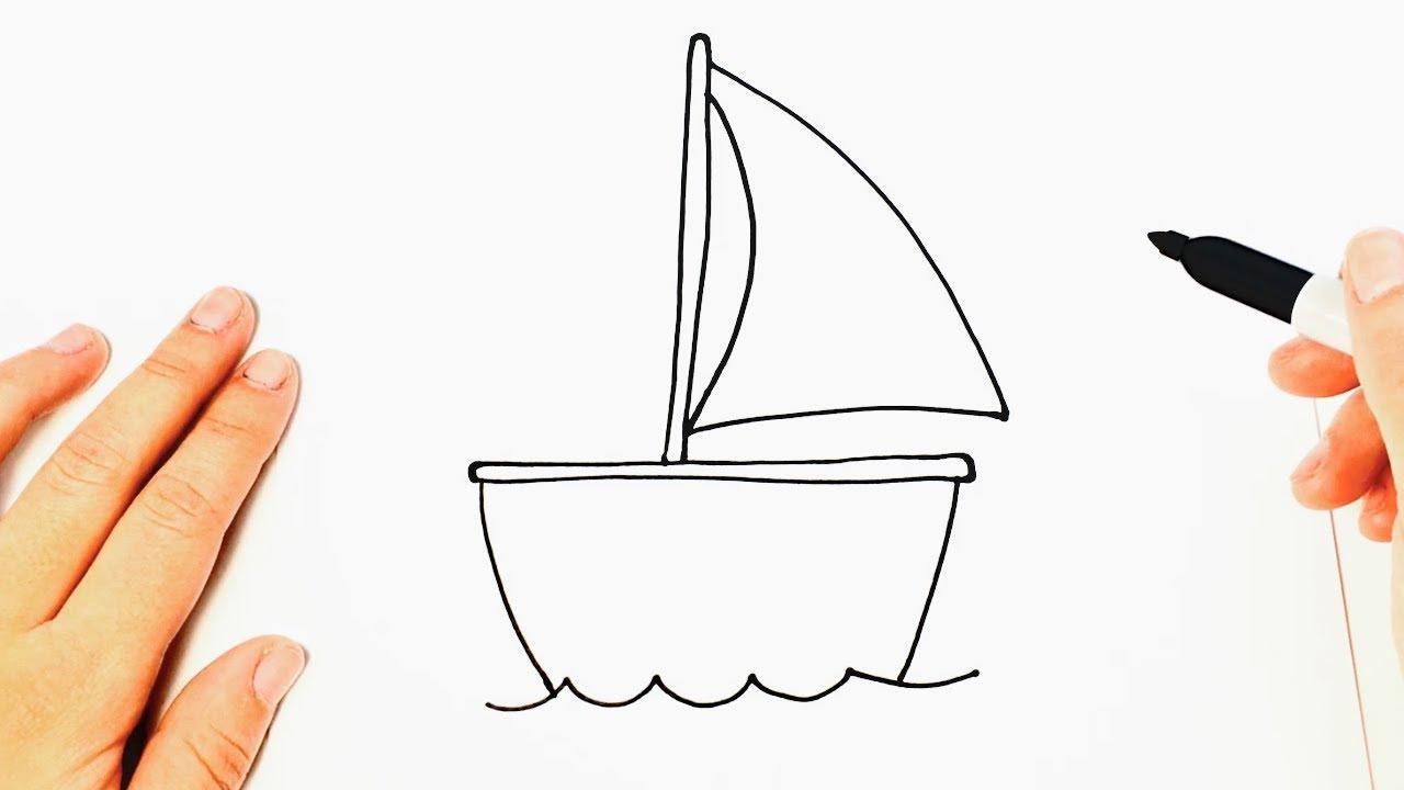 Cómo Dibujar Un Barco Muy Facil Paso A Paso Dibujos Fáciles Youtube