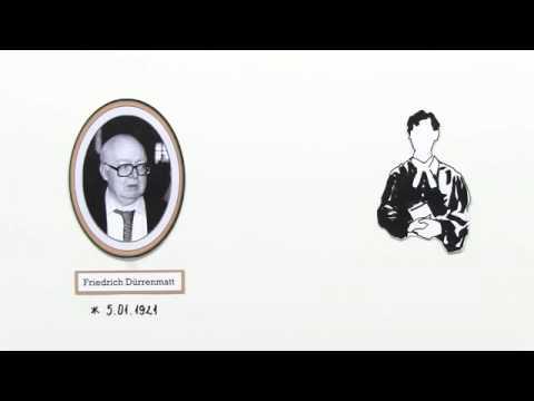 friedrich drrenmatt leben und werk deutsch literatur - Friedrich Durrenmatt Lebenslauf