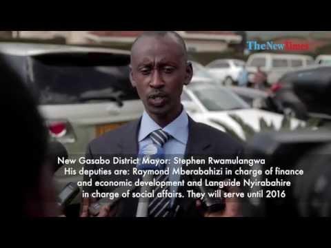 New Gasabo Mayor Election