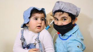 Celina and Doctor Hasouna - سيلينا وحسونة طبيب