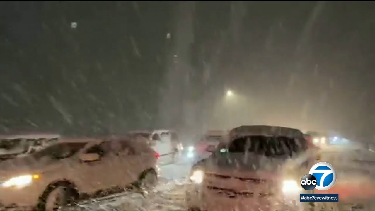 SOCAL STORM: Travelers brace for incoming storm with potential to shut down major freeways | ABC7