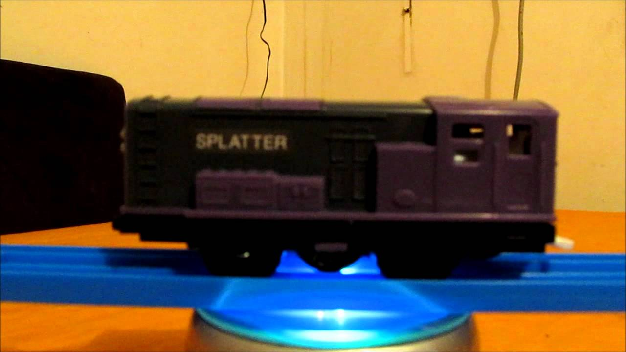 Tomy Splatter And Dodge Twin Pack Unbox And First Run Youtube