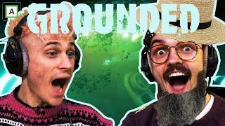 VI FINNER EN UNDERVANNSLAB!... Og Chris blir bonde - Grounded (ep 3)