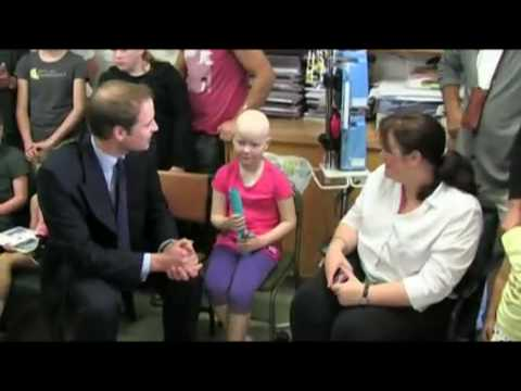 Prince William visits Wellington Hospital