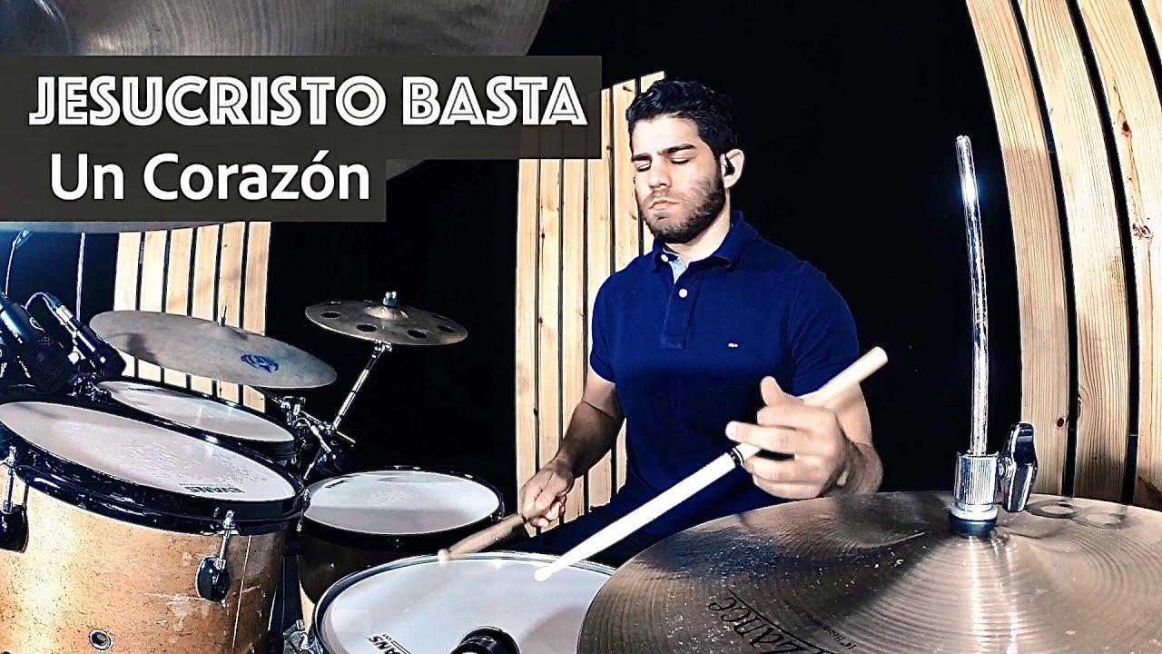 Jesucristo Basta - Un Corazón (Drum Cover) Hector Garcia