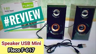Gadget - Review Speaker USB Mini Fleco F-017 Speaker Digital