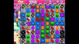 Candy Crush Saga Nivel 1411 completado en español sin boosters (level 1411)