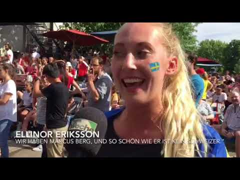 Public Viewing Unter Schwedinnen Und Schweden Voltabräu Basel Youtube