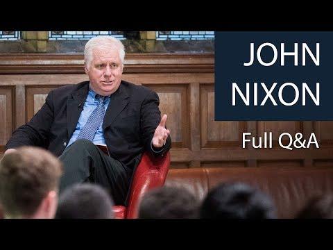 John Nixon | Full Q&A | Oxford Union