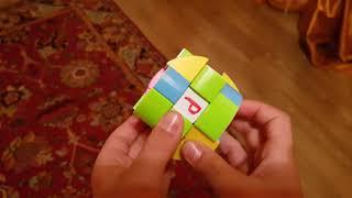 Как собрать цилиндр рубика или бочку рубика