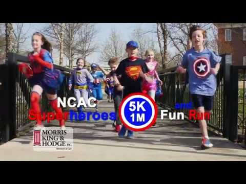 Huntsville AL Personal Injury Lawyers Sponsor NCAC 5K/1M Superhero Fun Run
