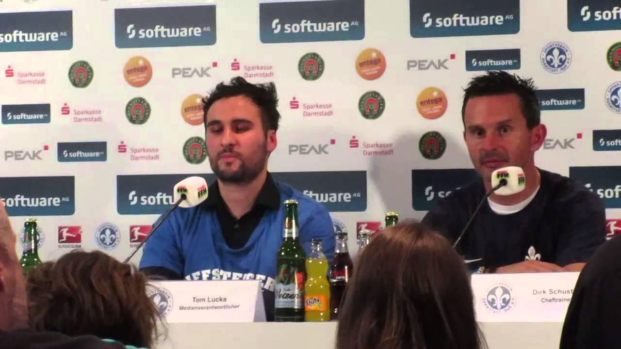 Pressekonferenz Darmstadt 98