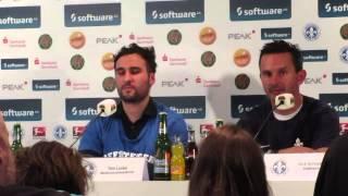 Pressekonferenz SV Darmstadt 98 - FC St. Pauli Uffstiech