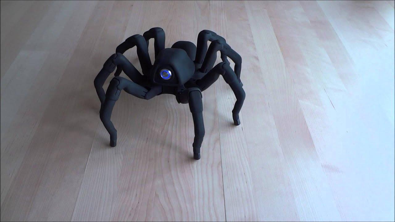 T8 3D Printed Octoped Robot - Spider Salsa Rumba! Halloween 2013 ...