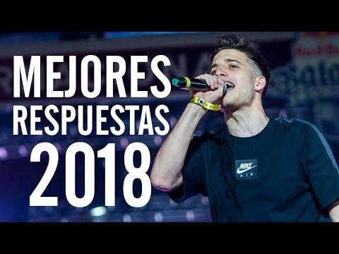 Las MEJORES RESPUESTAS del AÑO 2018 | Batallas De Gallos (Freestyle Rap)