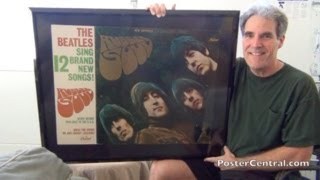 Beatles Rubber Soul Promo Display 1965 Capitol Records