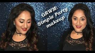 GRWM: Simple Christmas Party Makeup ** B Beautiful by Binita **