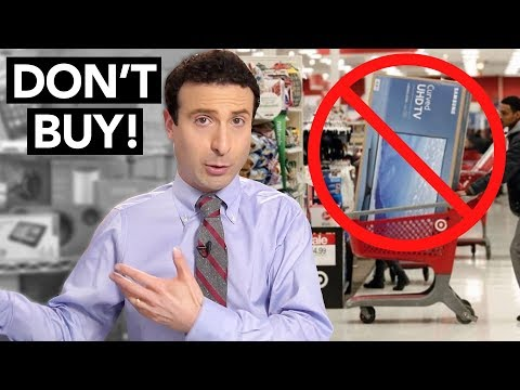5 Things NOT to Buy on Black Friday 2017!