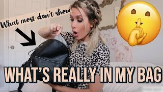 WHAT'S IN MY BAG ( SHOWING THINGS MOST YOUTUBERS DON'T )