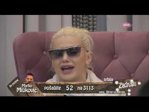 Zadruga 2 - Luna progovorila o emocijama prema Matoroj, Marko odreagovao - 21.02.2019.