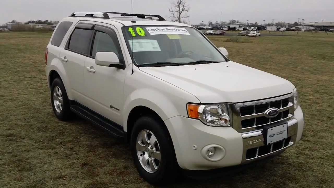 Used car for sale maryland 2010 ford escape hybrid youtube