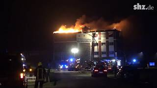 Husum: Feuer im Nordsee-Hotel