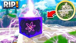 *NEW* THE CUBE HAS DESTROYED TILTED TOWERS! CUBE EVENT in FORTNITE BATTLE ROYALE!