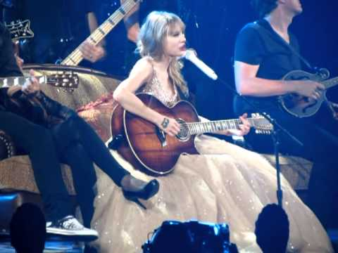 Taylor Swift Fifteen Live in Melbourne 13th March 2012