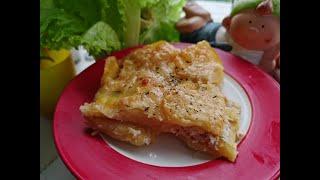 Картофель по французски Любимое блюдо нашей семьи Вкусная картошка