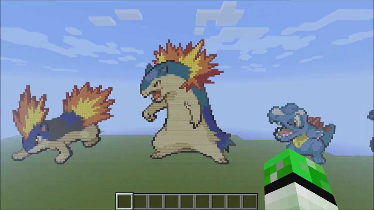 how to make pokemon in minecraft xbox
