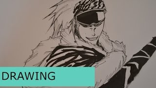 Drawing Renji Abarai Fast Mode
