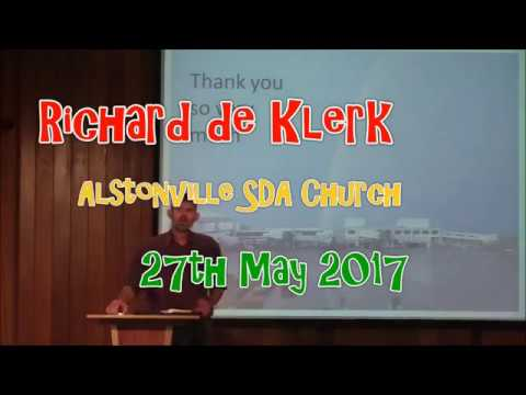 Richard de Klerk  Thank You So Very Much.