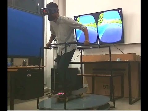 VR Skateboard Game and Controller Design