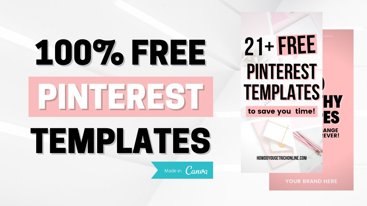 20+ Free Pinterest Templates for Canva FREE Download   YouTube