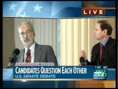 Ron Wyden at Portland City Club Debate