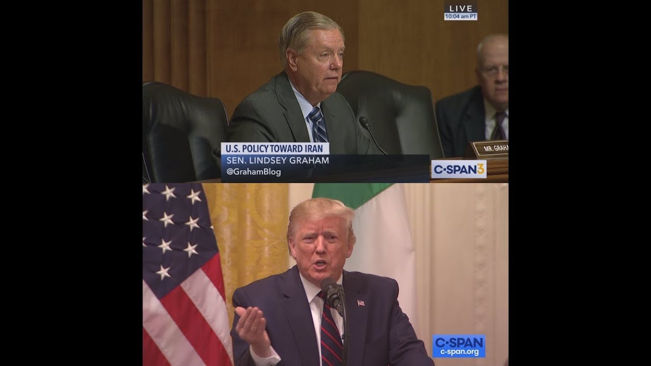 CSPAN President Trump responds to Senator Graham Statement