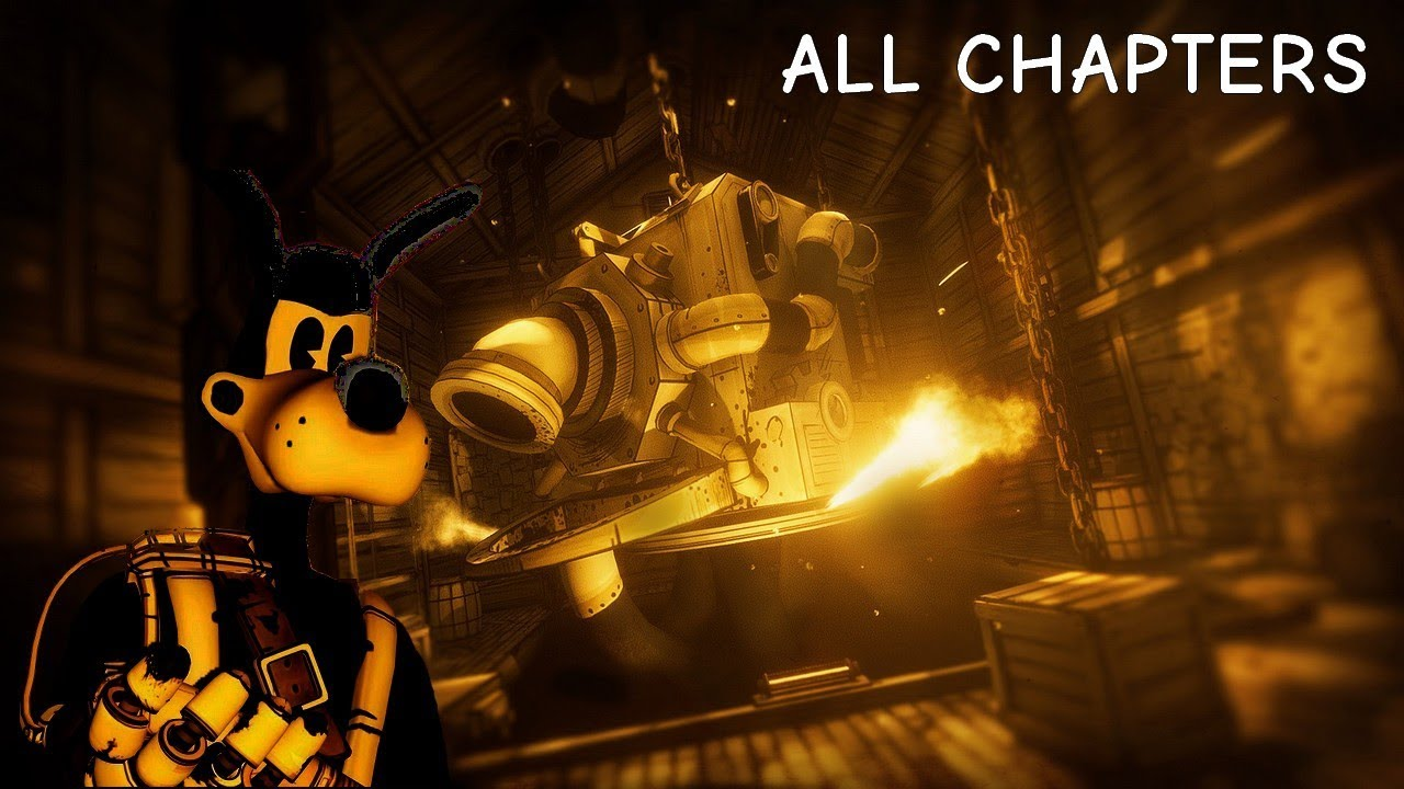 ALL CHAPTERS - Bendy and the Ink Machine™ Full game & Ending Playthrough Gameplay