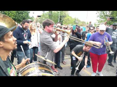High and Mighty Brass Band - So Fresh and So Clean (Outkast) at Live From the Lot 5/22/16