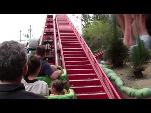Gadget's Go Coaster - Kids Roller Coaster at Disneyland HD POV 2014