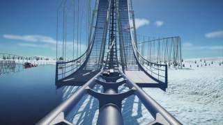Planet Coaster: Ice-Cold Winter Coaster