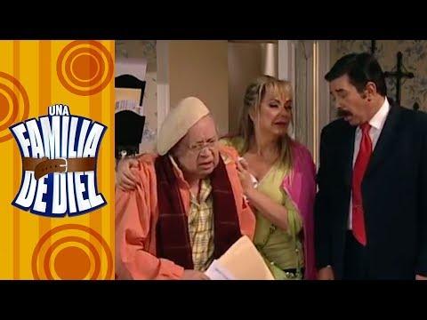 Una familia de diez - C-7: ¡El abuelo Arnoldo en su lecho de muerte!   Televisa